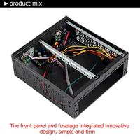 computer motherboard E-G3 PC Case Mini ITX Computer Case PC Chassis for Universal Motherboard E-G3 Mini ITX Server Tower 6xCOM Port Embedded SGCC (5)