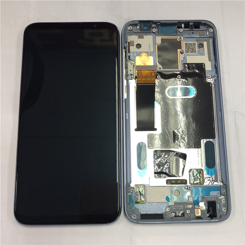 Original Display Frame For 6.0 Meizu 16 16th Axisinternational Super Amoled LCD Screen+Touch Panel Digitizer For Meizu 16th LCD