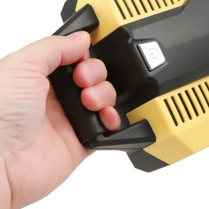 Image 5 - Digital Display Auto Car Air Compressor 12V/220V Mini Inflatable Pump Vehicle Tire Inflator Pump for Car Motorcycles Bicycles