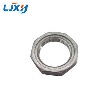 """LJXH 220V/380V DN32 Heating Element for Water 1.2\"""" 42mm Thread Immersion Water Heater Tube All 304 Stainless Steel with Locknut"""