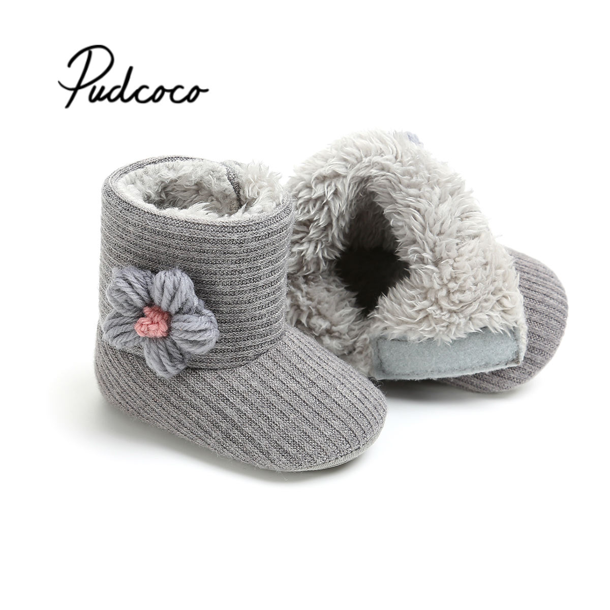Unisex Baby Newborn Bootie Winter Keep Warm Infant Toddler Crib Shoes Soft Classic Floor Boys Girls First Walkers For New Years