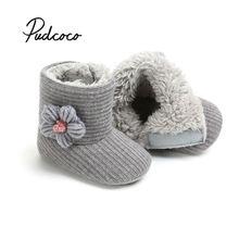 Unisex Baby Newborn Bootie Winter Keep Warm Infant Toddler Crib Shoes