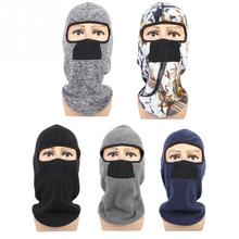 b9d70dd737f Winter Outdoor Sports Cycling Fack Mask Sacrf Cap Windproof Thermal  Snowboard Bicycle Full Face Mask Headwear