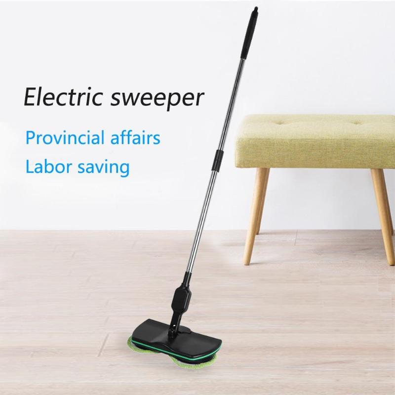 Household Electric Sweeper Mop Floor Cleaning Tools Microfiber Mop Rechargeable Cleaning Brush Automatic Mop Cleaner New Hot|Mops| |  - title=