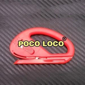 Image 5 - Película de revestimiento de vinilo segura, cúter de Color naranja portátil, versátil, cuchilla para manualidades para coser Cartón, herramienta de corte de colección de recortes, Zippy