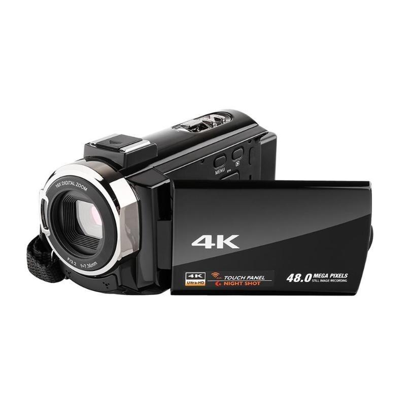ALLOET 2160 P 4 K UHD caméra vidéo numérique 48MP 16X ZOOM 3.0