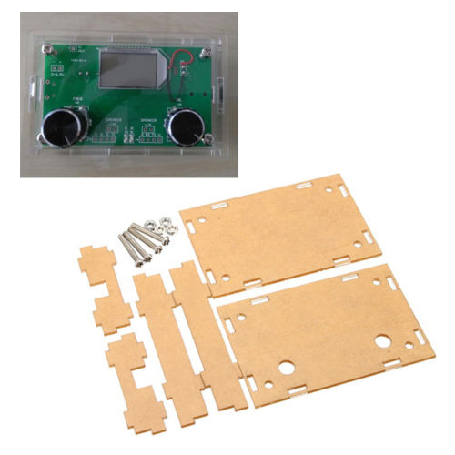 1 X Transparent Acrylic Enclosure For DSP & PLL Digital Stereo FM Radio