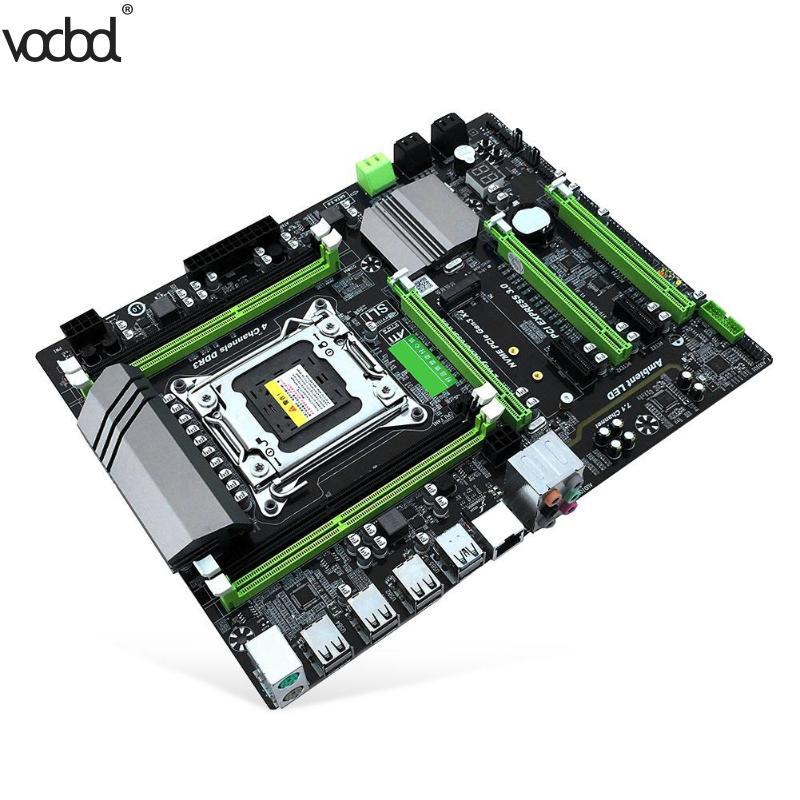 X79T DDR3 PC ordinateurs de bureau carte mère 2011 CPU ordinateur 4 canaux cartes mères Support M.2 E5-2680V2 SATA 3.0 USB 3.0 pour Intel B75