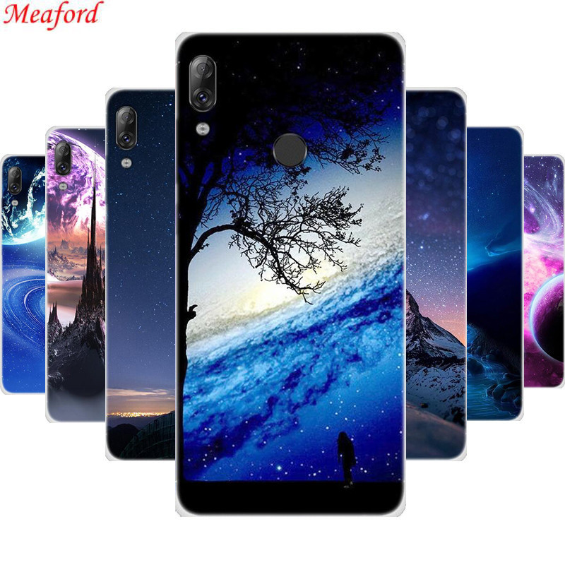 Cover For Lenovo K5 Pro Case 5 99 quot unique star planet print TPU case For Lenovo K5 Pro K 5 pro K5PRO Case Soft Silicone funda in Fitted Cases from Cellphones amp Telecommunications