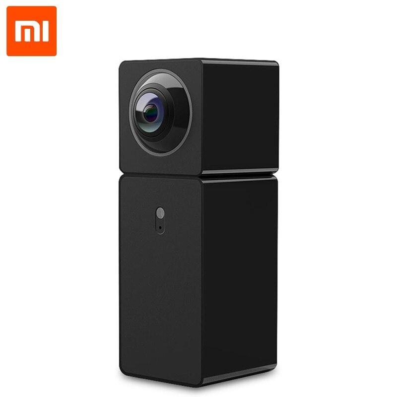 Original Xiaomi Hualai Xiaofang 1080 P caméra double objectif 360 caméra panoramique vue Wifi XiaoFang double CMOS CCTV Mijia maison intelligente