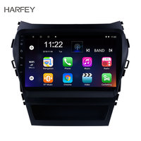 Harfey Car Radio For 2013 2014 2015 2016 2017 Hyundai IX45 SantaFe Android 8.1/9.0 9 Bluetooth GPS Navigation Multimedia Player