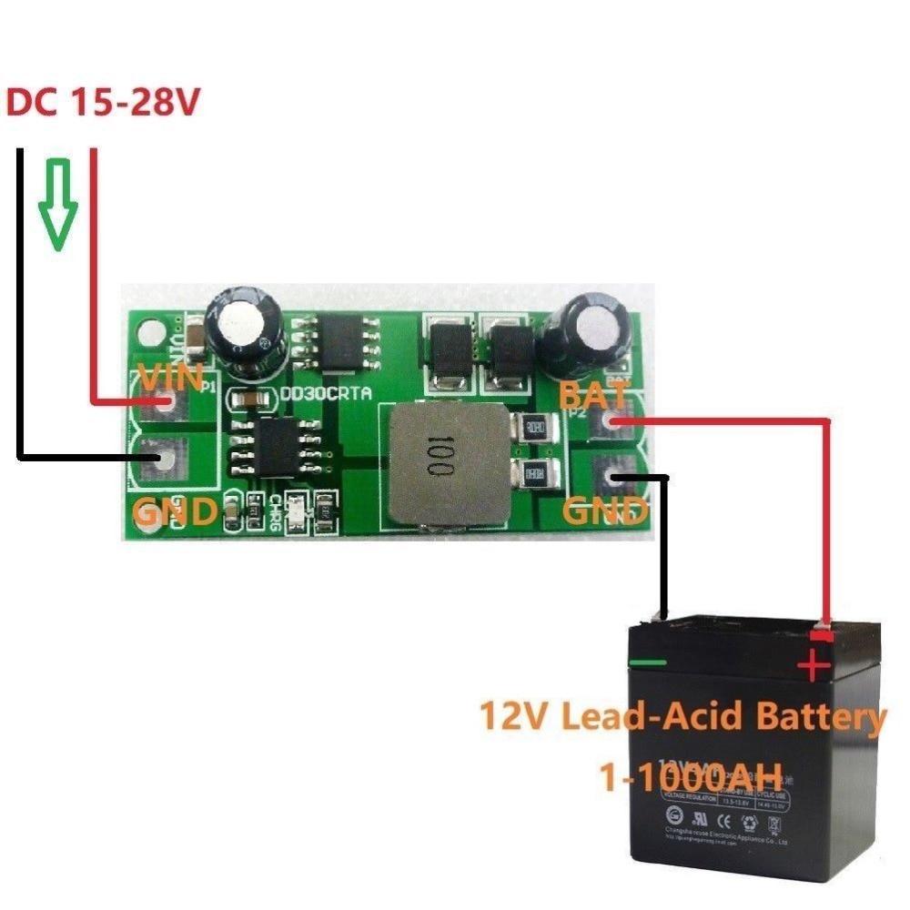 3а 1 1000а 12 В свинцово кислотный аккумулятор, зарядное устройство, зарядка для автомобиля, солнечной батареи, для автомобиля, для автомобиля, для зарядки|Интегральные схемы|   | АлиЭкспресс