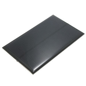 Image 4 - CLAITE Wholesale 5V 1.25W 250mA Solar Panel Monocrystalline Silicon Epoxy DIY Solar Cells Module For Cellphone Battery Charger