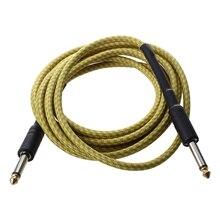 الأصفر كابل التوصيل ل الغيتار الصوتية الكهربائية باس 3M