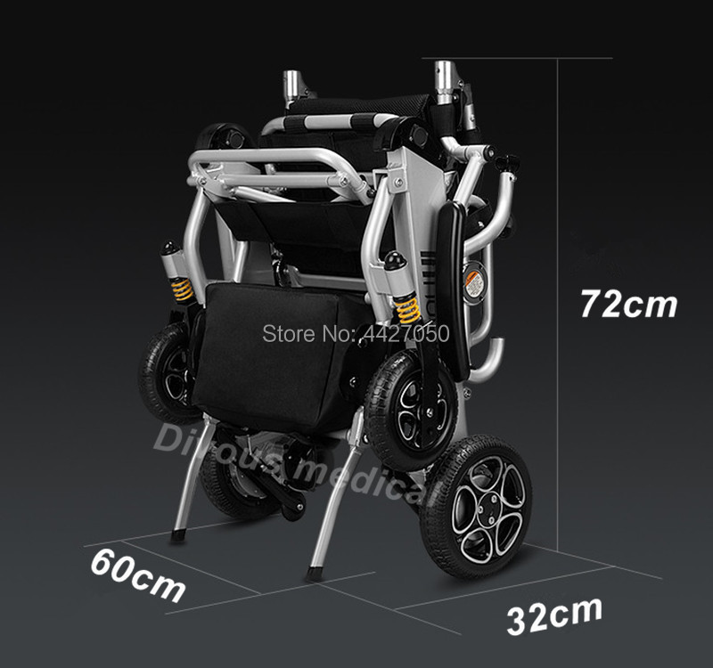 Free shipping to USA 2019 Fashion best sell foldable lightweight electric font b wheelchair b font