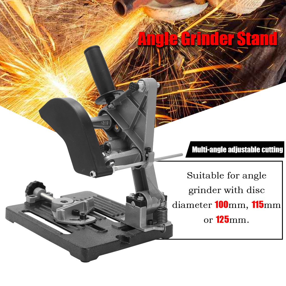 Professional Multifunctional Aluminum Bracket Iron Base Cutting Machine Metalworking Hand Power Tool Angle Grinder Stand