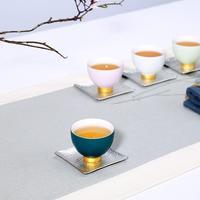 6 Pcs/Set Chinese Tea Cups Porcelain Celadon Teacup Set Teapot Drinkware Ceramic China Kung Fu Tea Set Ceramic Cup Gift