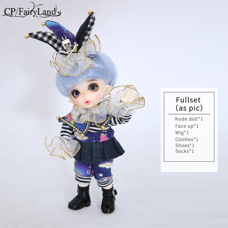 OUENEIFS Pukifee Zio Fairyland bjd sd docka 1/8 kroppsmodell baby - Dockor och tillbehör - Foto 6