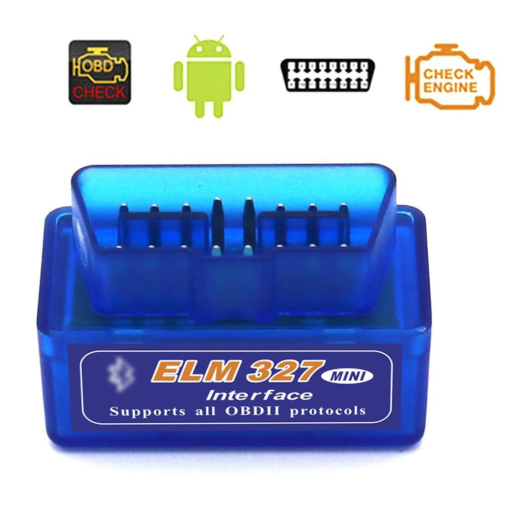 Mini Bluetooth Car OBDII Diagnostic Auto Scanner Tool ELM 327 V2.1 for It supports all OBD II protocols. Andriod-in Code Readers & Scan Tools from Automobiles & Motorcycles