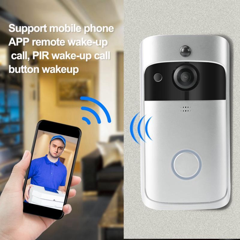 Image 3 - 720P Home Security Monitoring Door Bell Smart WiFi Video Intercom Doorbell Wireless IR Night Camera wireless belldoor-in Doorbells from Home Improvement