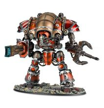 Questoris Knight Styrix conversion kit (use with Imperial Knight chassis parts)