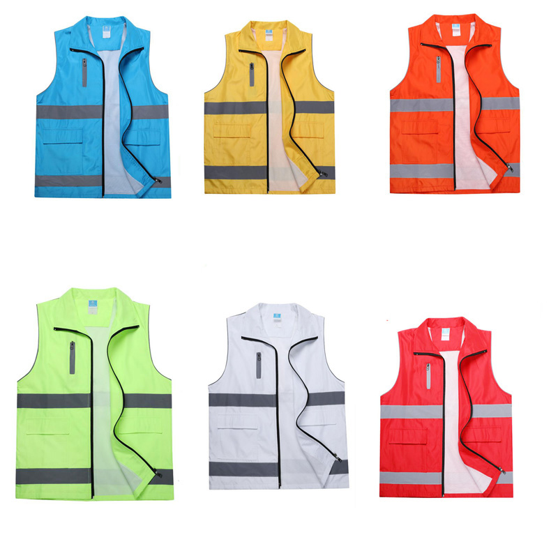 Reflective Safety Warning Vest Working Clothes Reflectante Chaleco Day Night Protective Vest For Cycling Outdoor Traffic DFZ020 Reflective Safety Warning Vest Working Clothes Reflectante Chaleco Day Night Protective Vest For Cycling Outdoor Traffic DFZ020