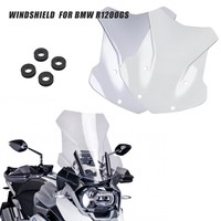 Windscreen Windshield For BMW R1200GS R 1200 GS LC ADV Adventure 2013 2014 2015 2016 2017 2018 Wind Shield Screen Protector