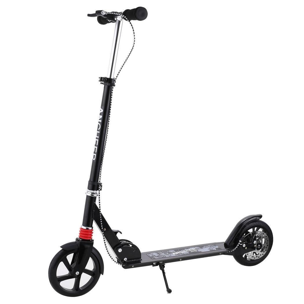 ANCHEER Adulte Enfants Scooter Alliage Réglable En Aluminium Femmes Hommes Hauteur 3-Roue Booster Pliable Mini Smart Pour Adulte