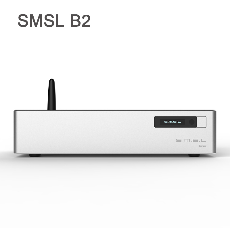 Digital-analog-wandler Smsl B2 Desktop Digital Dac Audio Amp Hifi Bluetooth Dac Usb Dsd512 Decoder Optical Coaxial Aes Ausgang Auf Dem Internationalen Markt Hohes Ansehen GenießEn
