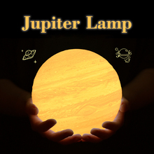 Rambery jupiter lamp 3D print moon