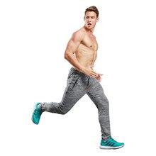 Pantalones utdoor hombres Jogging Pantalones Slim gimnasio baloncesto  Deporte Pantalones Fitness chándal entrenamiento pantalones ropa deportiva beb8c8f00f5e5