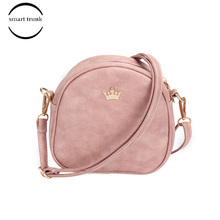 2019 Small Bag Imperial Crown Pu Leather Women Handbag Mini Mobile Phone Purse Women Shoulder Bag Small Shell Crossbody Bag цена в Москве и Питере