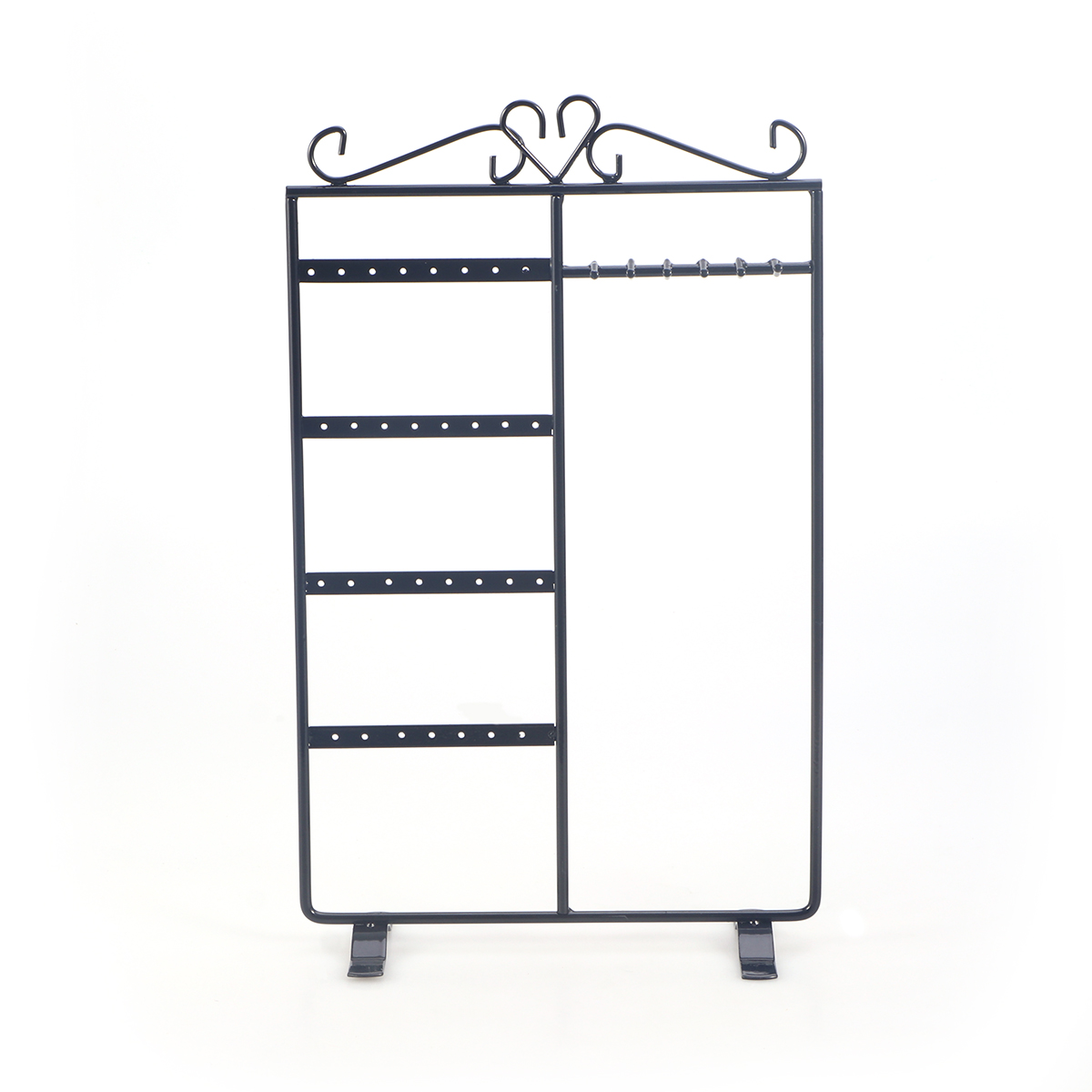 Necklace Ring Earring Display Stand Rack Shelf Metal