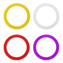 3 шт. жонглирование акробатика метание бросок кольцо браслет реквизит Ручная игрушка-клоун развивающие Открытый круг игра игрушка Дети подарок