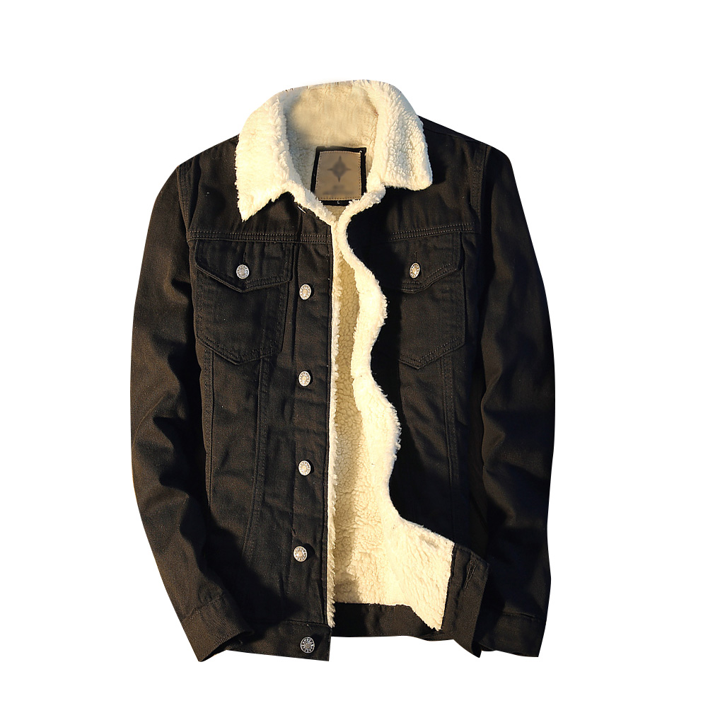 Flower Embroidery Front Button Destroyed Jeans Jacket Men High Street Ripped Denim Jackets Men s Jacket
