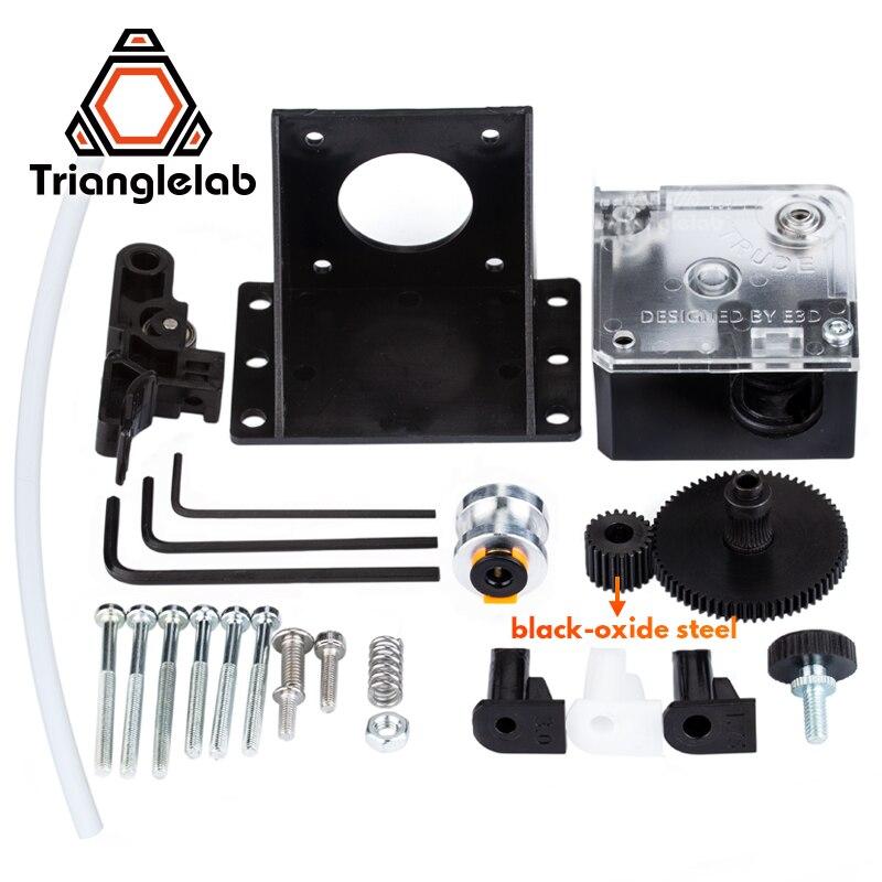 Trianglelab titan extrusora para escritorio FDM 3D impresora reprap MK8 J-La bowden envío gratis ANET MK8 i3 soporte de montaje