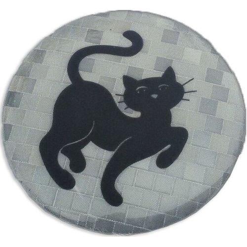 Reflective badge AVS Cat Silver (2818) diy reflective crocodile style sticker for car red silver 2 pcs