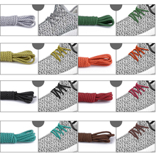 1PairFluorescent Sneaker Shoes Replacement Shoe Laces Shoestrin Hiking Walking Round Rope Basketball Boots Shoelaces