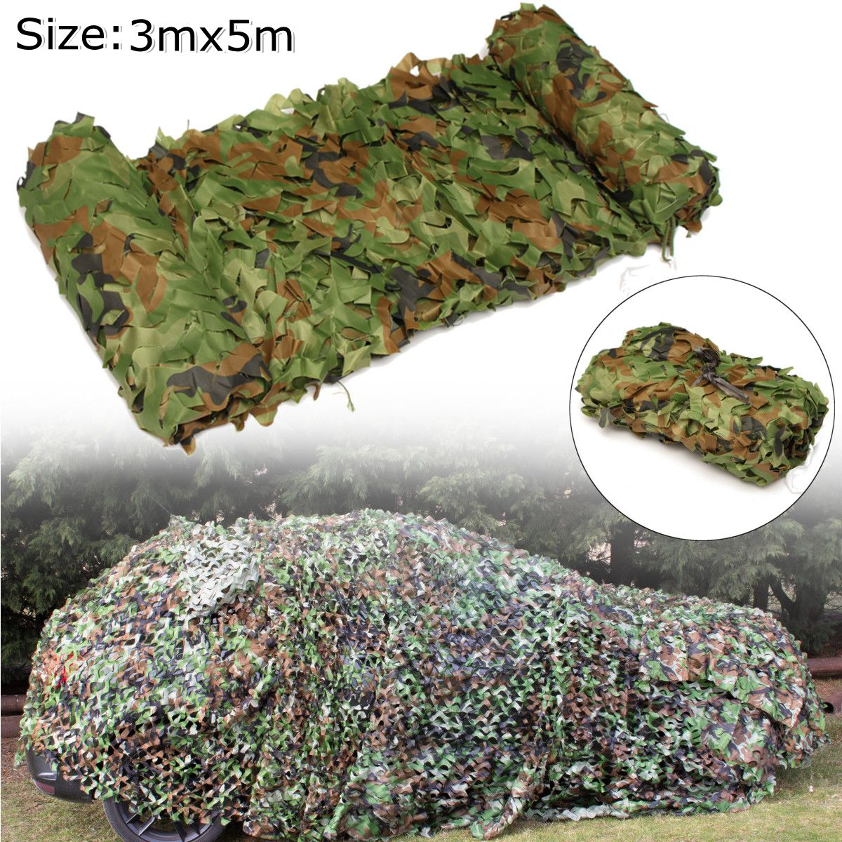 3 x 5m Hunting Camping Outdoor Desert Woodlands Blinds Army Military Camouflage Camo Net Sun Shelter Jungle Blinds Car Covers3 x 5m Hunting Camping Outdoor Desert Woodlands Blinds Army Military Camouflage Camo Net Sun Shelter Jungle Blinds Car Covers