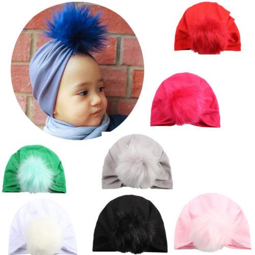 Baby Sun Hat Summer Beach Hat Bucket Cap Newborn Toddler Kids Girl 0-4 Years