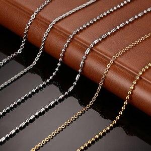 Vnox DIY Chain Necklace Stainl