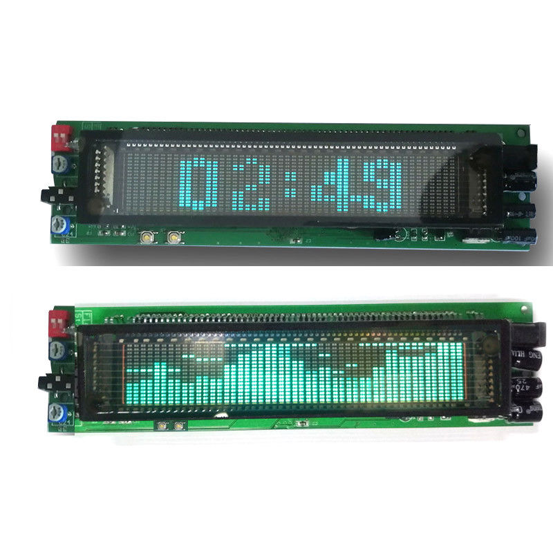 DYKB VFD clock Music Spectrum Display Analyzer MP3 PC Amplifier Audio Level Indicator music rhythm Analyzer