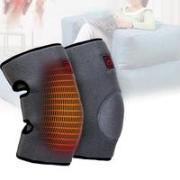 MUMIAN 1 Pair Outdoor Dual Use Thermal USB Electric Heating Warm Knee Pads Heating Rechargeable Battery Charging 5 V