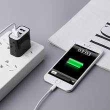 Alloet 60*45*26 Mm Universal 3 Port Ponsel Charger 5 V 3.1A USB Travel Charger Smart dinding Adaptor untuk IOS Android(China)