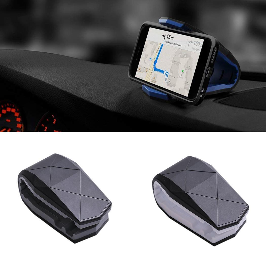 Universal Car Phone Holder  GPS Holder Dashboard Mount Clip Cell Phone Stand Holder for Phone in Car With Non-Slip Silicone Base