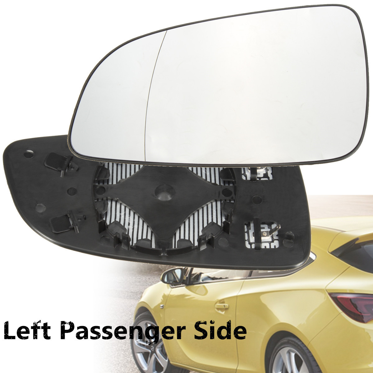 Vauxhall Insignia Hatchback 2008-/> Heated Aspherical Mirror Glass Drivers Side