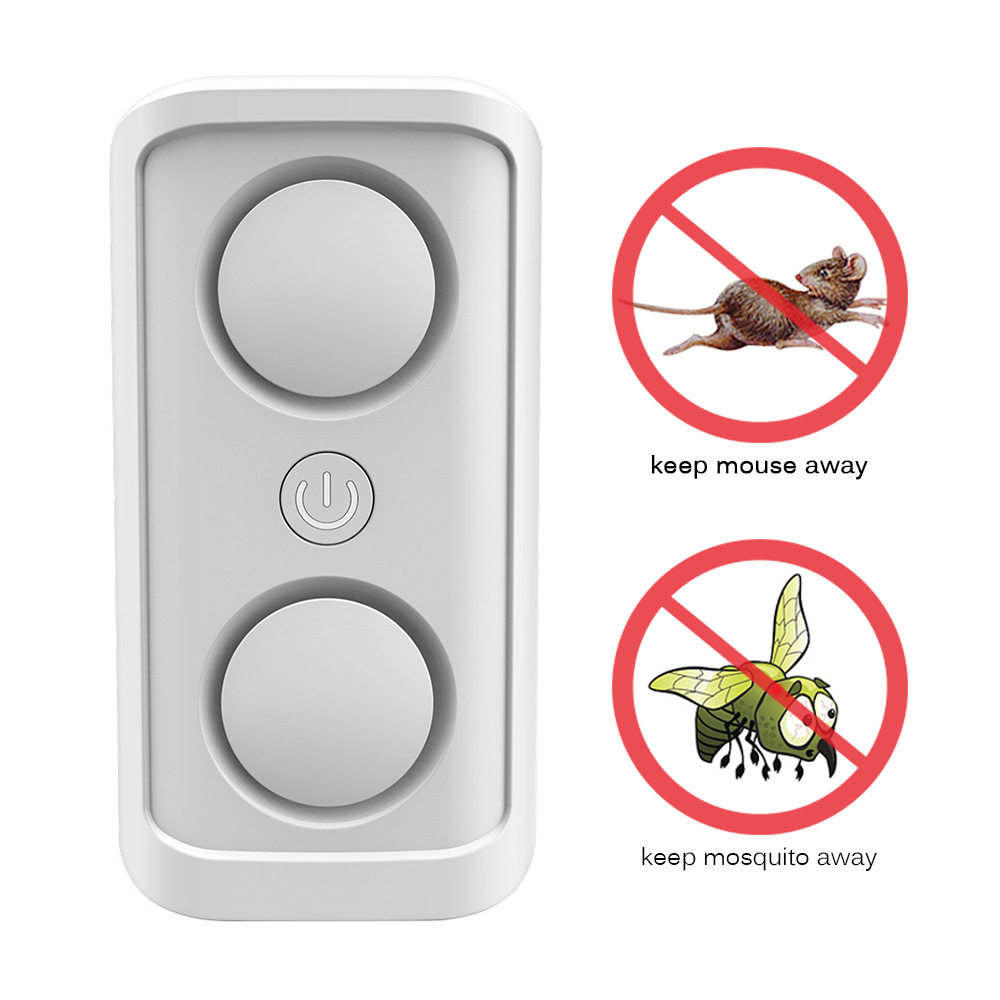 4 X Ultrasonic Electric Indoor Anti Mosquito Rat Mice Pest Bug Control Repeller