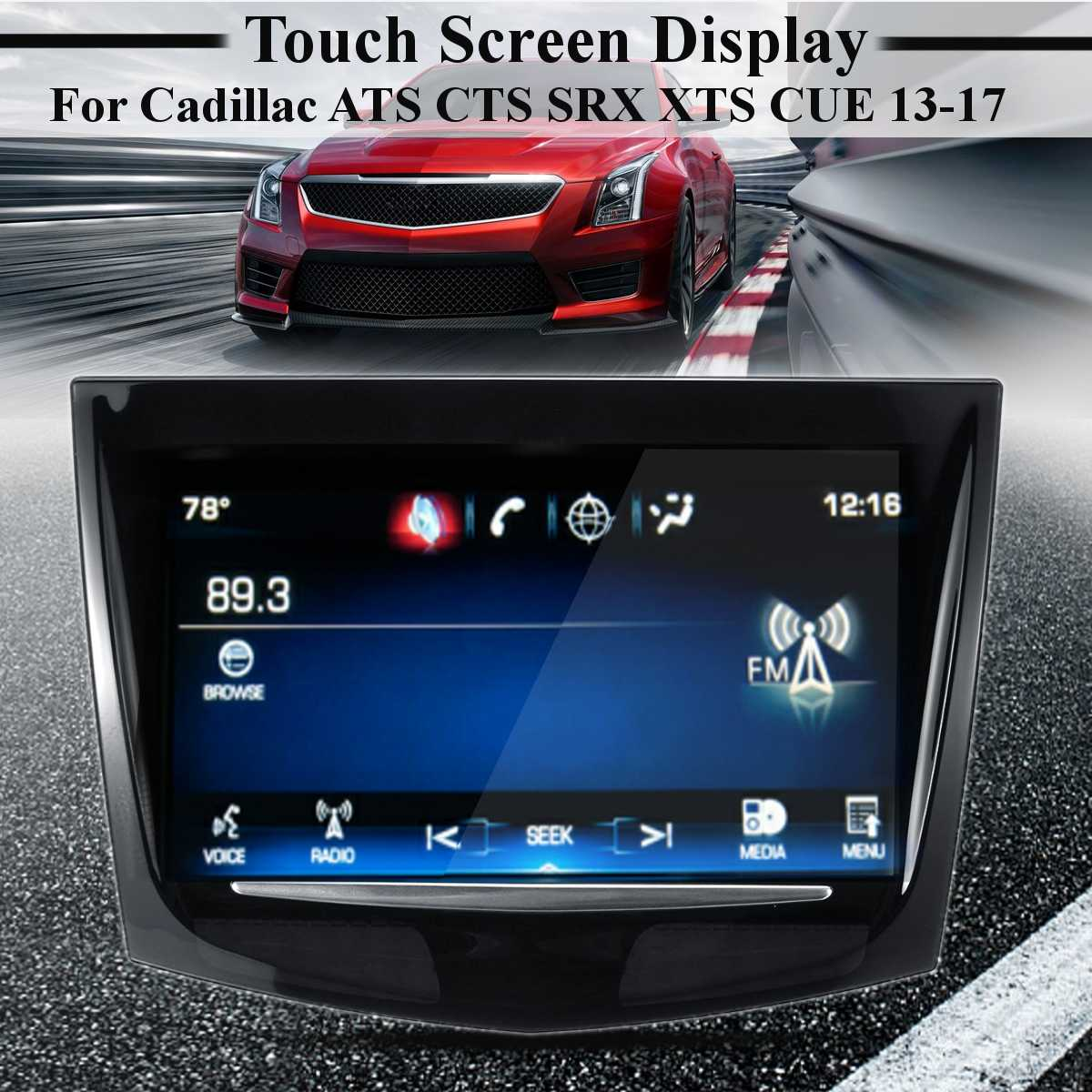 For Touch Screen Display For Cadillac Escalade ATS CTS SRX XTS CUE 2013-2017 Sense  For Touch Display Digitizer