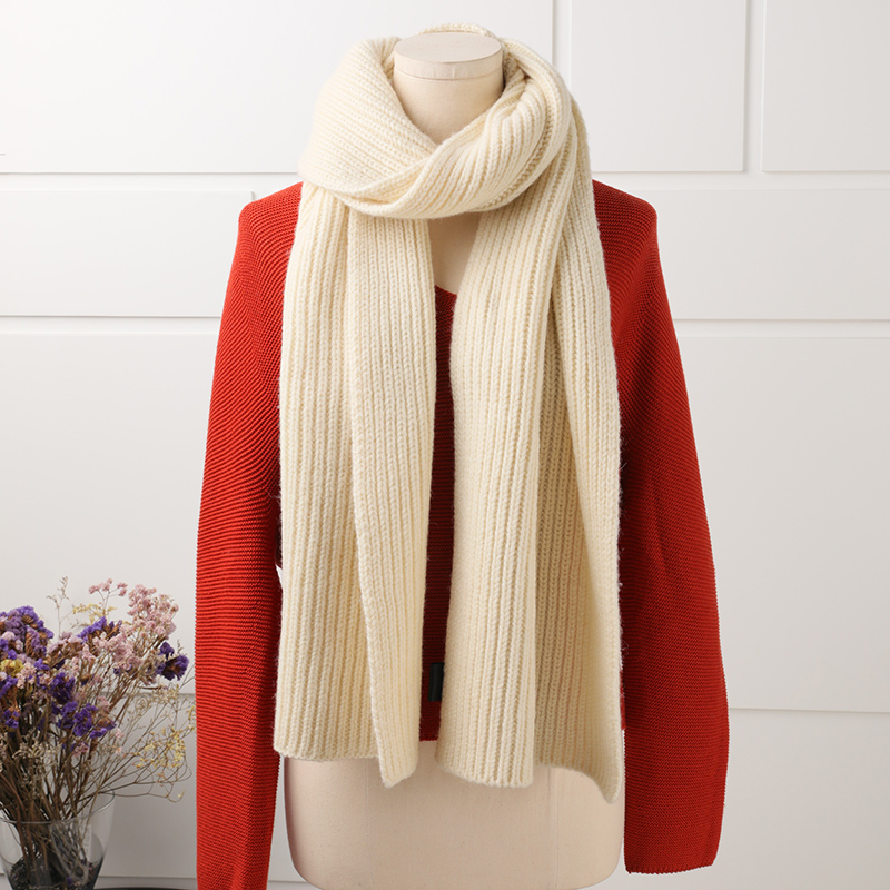Special free shipping autumn winter pure cashmere scarf female student long knitted wool dual use thickening collar scarf shawl