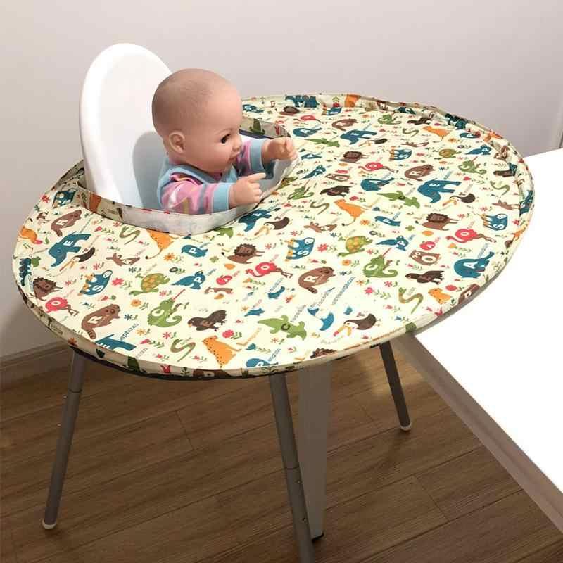 Babero y bandeja para el destete del beb/é kit de alimentaci/ón de ni/ños talla /única hasta 2 a/ños funda para silla alta para beb/é